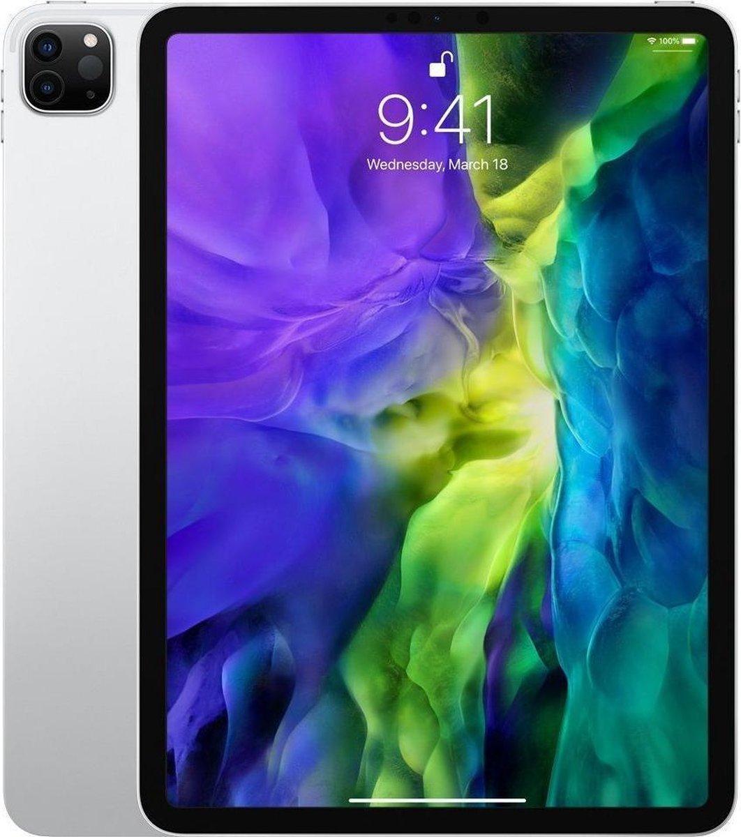 Apple iPad Pro (2020) refurbished door Adognicosto – B Grade (Lichte gebruikssporen) – 11 inch – WiFi – 512GB – Zilver