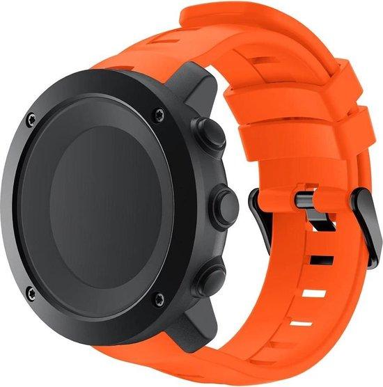 Suunto Ambit 3 Vertical / Spartan Sport Bandje - Horlogebandje - Polsbandje - Bandjes.nu - Polsband – Oranje