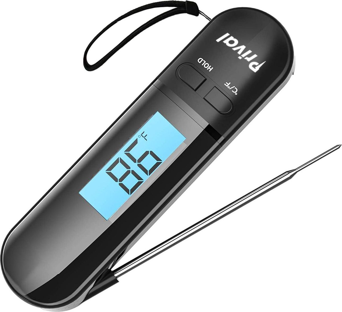 Prival Vleesthermometer - BBQ Thermometer - Digitaal - Draadloos - Oven - Vleesthermometers