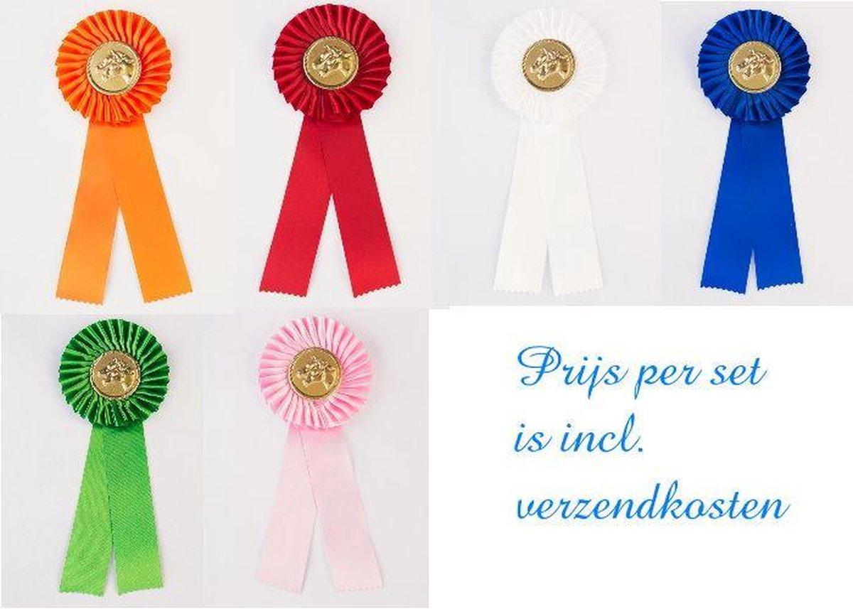 Paardenrozetten - per set - 1ste t/m 6de prijs - bol.com