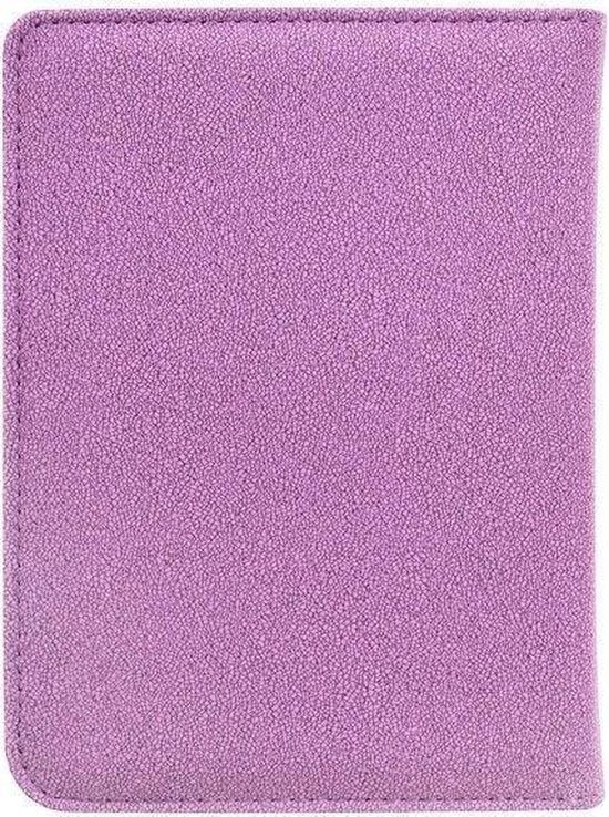 Soft Premium Sleepcover voor Kobo Clara HD - Petroleum Paars - Hoesjes Boetiek