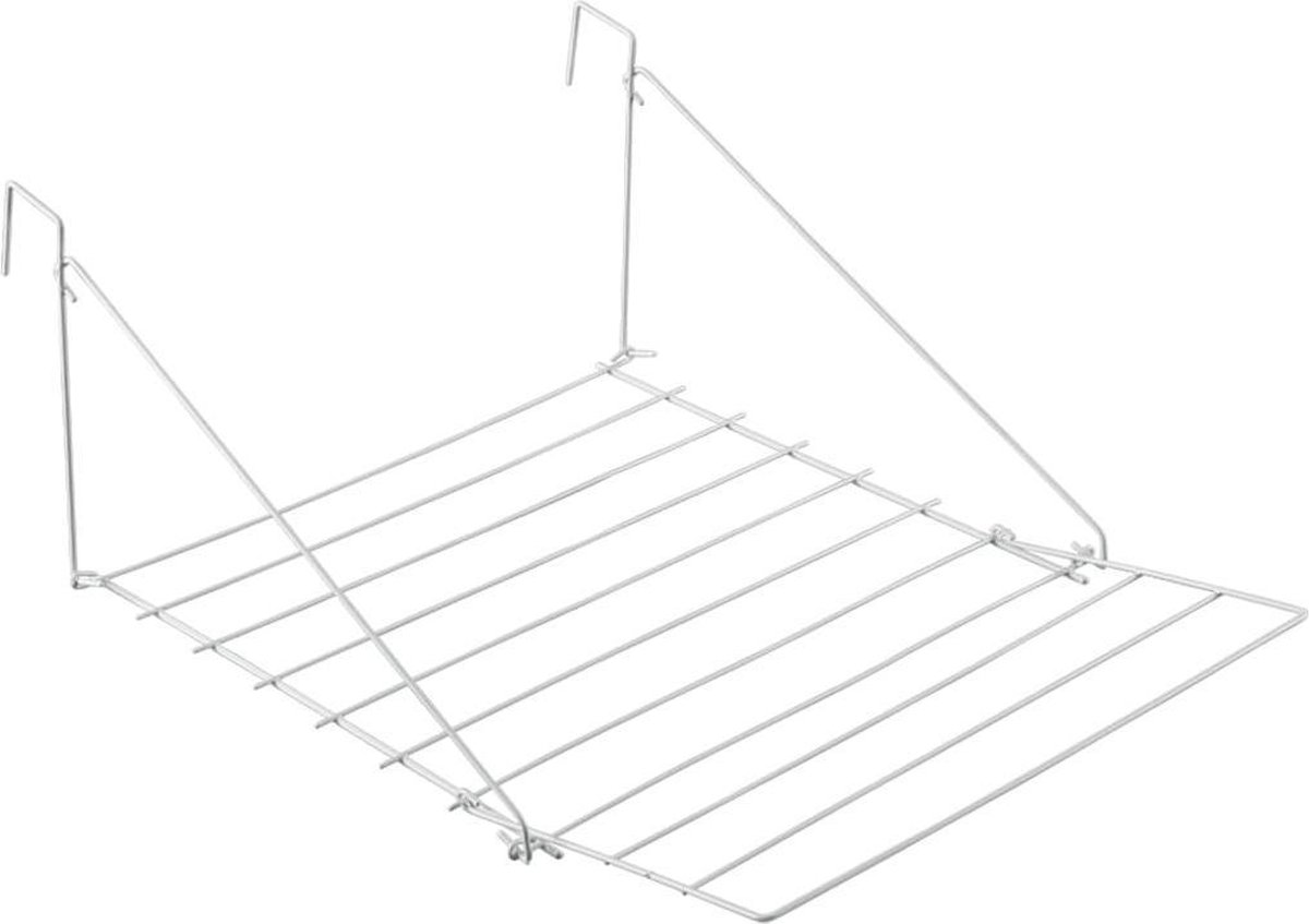 Metaltex Breda Hangdroogrek - 7m Drooglengte - Ophangbaar - Wit - Tomado - Metaltex