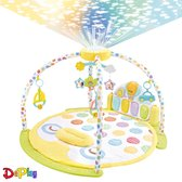 DePlay Luxe BabyGym - Piano - Sterren Projector - Projector Sterrenhemel - Speelmat - Speelkleed Baby - Hoofdkussen Kind - Fotolijstje Speeltjes