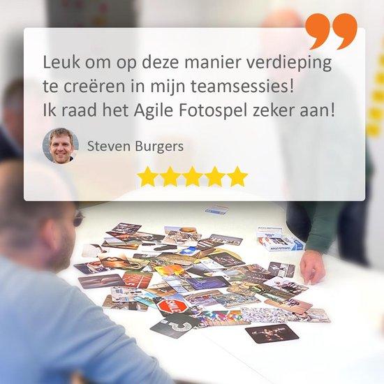 Thumbnail van een extra afbeelding van het spel Stap1 Agile Fotospel - Associatiekaarten - 50 Foto's - Coachkaarten - Scrum - Kanban - Fotokaarten voor Training, Workshop en Retrospective