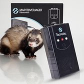 Tecredo Marterverjager - Ongedierte verjager op Batterij/Autoaccu/Stopcontact - Marterverjager Buiten/Auto - Muizenverjager