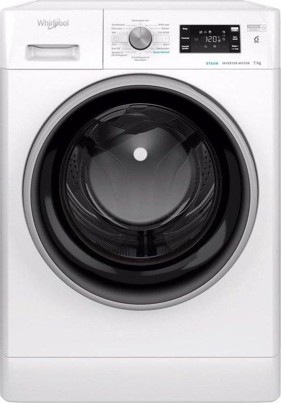 Whirlpool vrijstaande wasmachine: 7,0 kg - FFB 7448 BSEV NL