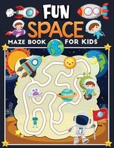 fun space maze book for kids