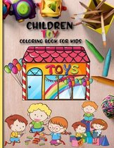 Children Toy Coloring Book For Kids