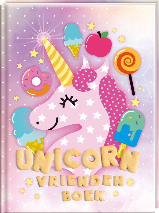 Afbeelding van FANTASYEMOJI Vriendenboek Unicorn