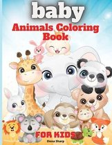 Baby Animals Coloring Book For Kids