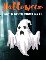 Halloween Coloring Book for Children ages 3-5