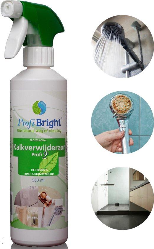 ProfiBright - Consument - Kalkverwijderaar Profi2  - Kalkweg - Ontkalker - Kant en klaar - Geen parabenen - Dierproefvrij - 500 ml