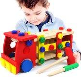 auto speelgoed jongens - Vormen auto – Houten speelgoed – Timmer speelgoed – Educatief speelgoed - Kinderspeelgoed
