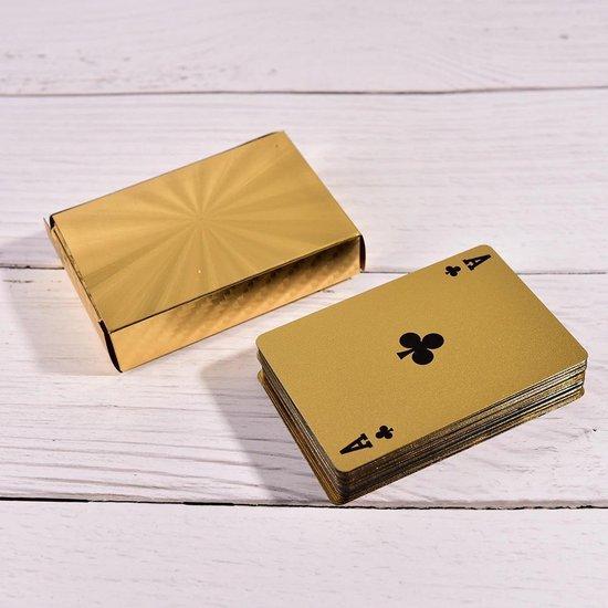 Thumbnail van een extra afbeelding van het spel ✿ Brenlux - Speelkaarten - Kaartspel - Waterproof kaarten - Gouden kaarten - Poker kaarten - Speelkaarten waterdicht - Potje kaarten