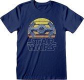 Star Wars shirt – Tie Fighter Moon maat 2XL