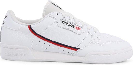adidas Sneakers - Maat 40 2/3 - Mannen - wit/navy/rood