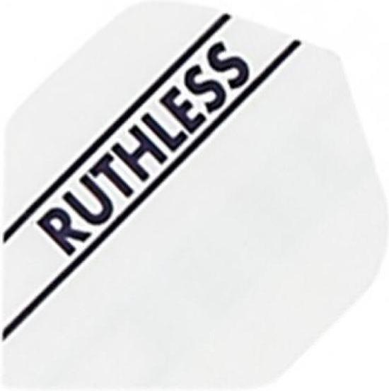 Thumbnail van een extra afbeelding van het spel 10 sets (30 stuks) Ruthless  flights Multipack - Solid White - darts flights