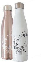 Love Generation ●  Drinkfles ● Waterfles ●  Wit ● Blossom ● Insulated
