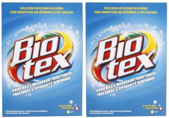 Biotex - Voorwas & Waskrachtversterker Waspoeder - 2 x 4 KG