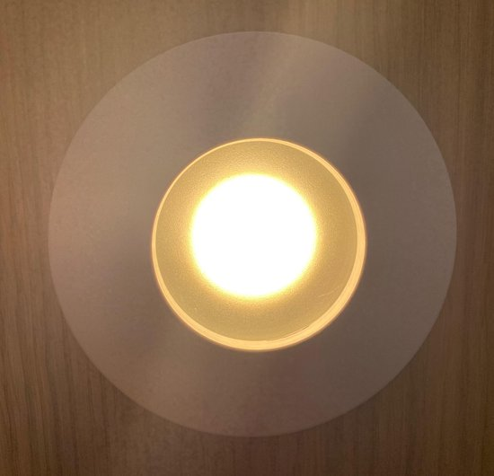 Bol Com Badkamer Led Inbouwspot Aluminium Rond Kleur Wit Led Lamp 5w Zeer Warm Wit
