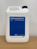 Strooizout 5KG in handige strooi can