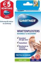 Wartner wrattenpleisters - Behandelt en beschermt bij wratten - Wrattenbehandeling - 24 stuks