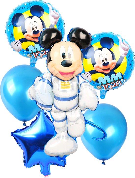 Mickey Mouse Ballonnen - Disney - Ballonnen Verjaardag - Helium Ballonnen - Folieballon - 8-Delig