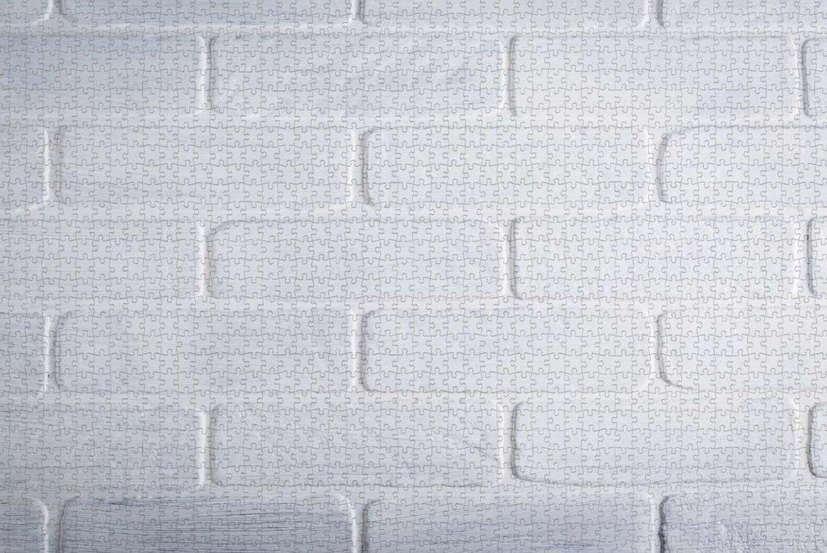 Witte Muur Puzzel - Mega Puzzel - Moeilijke Puzzel - 1500 stukjes