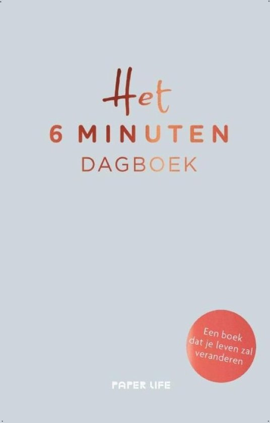 Afbeelding van Het 6 minuten dagboek