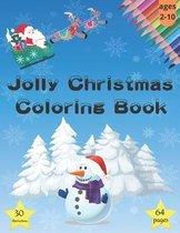 Jolly Christmas Coloring Book
