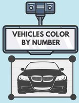 Vehicles Color by Number