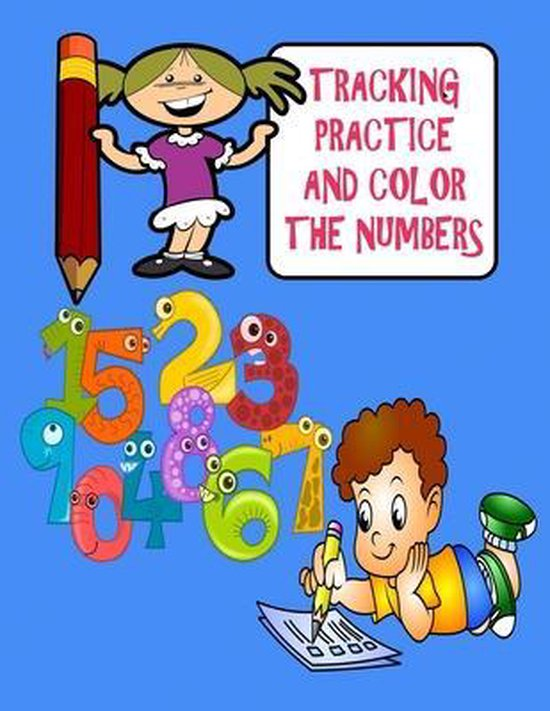 Tracking, Practice and Color The Numbers