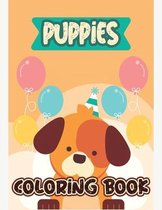 Puppies Coloring Book