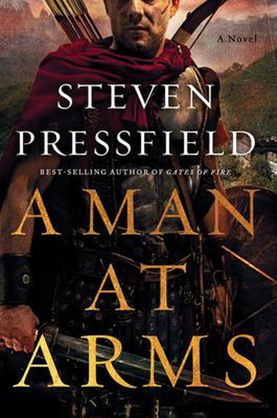 Boek cover A Man at Arms van Steven Pressfield (Hardcover)