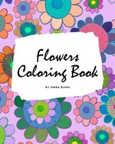 Flowers Coloring Book for Children (8x10 Coloring Book / Activity Book)
