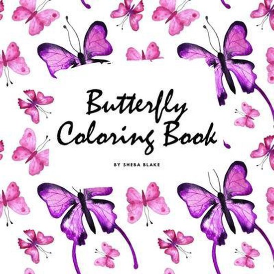 Butterfly Coloring Book for Children (8.5x8.5 Coloring Book / Activity Book)