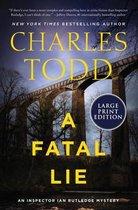 A Fatal Lie [Large Print]