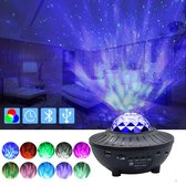 Galaxy projector - Sterrenhemel projector - Sterrenlamp - Galaxy lamp - Star projector - Nachtlampje kinderen - Disco lamp - Muziek box bluetooth - Star projector - Starry projector light