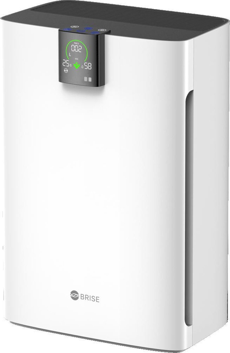 BRISE C360 – Luchtreiniger met Multi-effect HEPA en koolstoffilter – Max 95m2 – 5 laser sensors – Luchtvervuiling analyse – PRO Aerodynamisch luchtstroom – NightCare mode