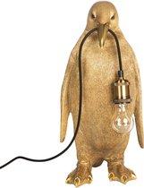 Kitchen trend Lamp staande PINGUIN goud 49,5 cm