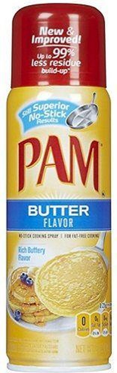 PAM Cooking Spray Butter Per Bus