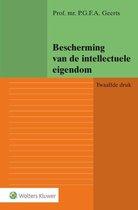 Boek cover Bescherming van de intellectuele eigendom van P.G.F.A. Geerts