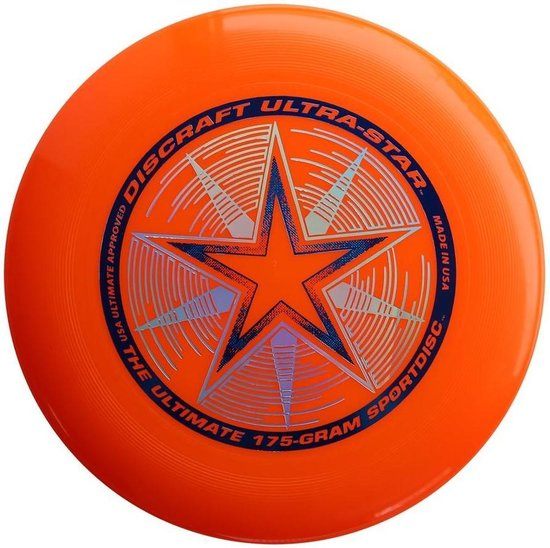 Discraft UltraStar - Frisbee - Oranje