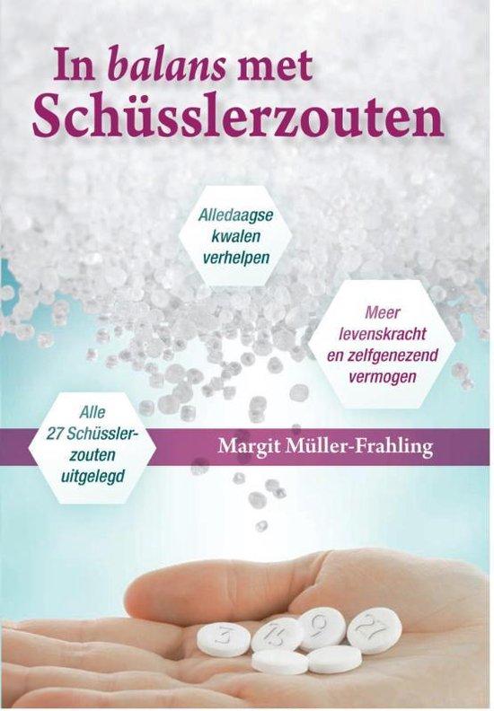 Boek cover SCHUSSLER BOEK CELZOUTEN van Margit Müller-Frahling (Paperback)