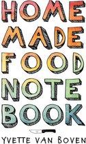 Home made food note book (EN)
