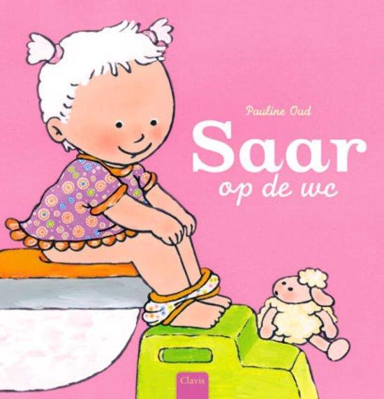 Boek cover Saar op de wc van Pauline Oud (Hardcover)