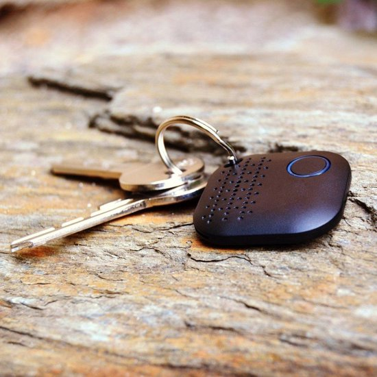 Bluetooth Keyfinder   Sleutel vinder   GPS tracker   Extra CR2032   2019 Zwart