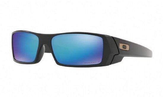 Sportbrillenshop - Oakley Gascan Matte Black/ Prizm Sapphire Polarized - OO9014-5060