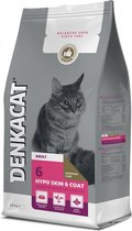 Denkacat Hypo Skin & Coat - Kattenvoer - Vis Rund 2.5 kg Volwassen Katten
