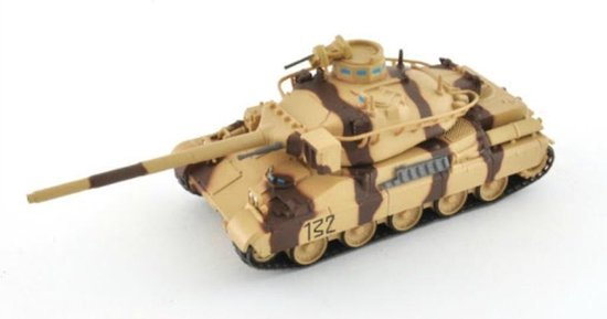 AMX 30 Leger Tank Die Cast 1/72 - Leger - Army - Modelauto - Schaalmodel - Leger model